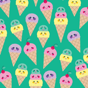 Ice Cream Dream - Ice Cream Cones