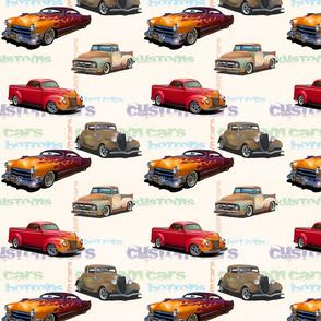 Hotrods and custom cars