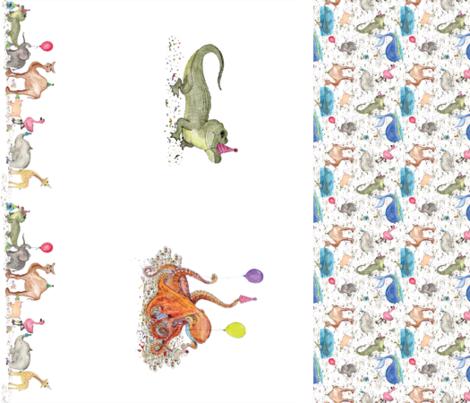 Party Animals Multi fabric by plucksduck on Spoonflower - custom fabric