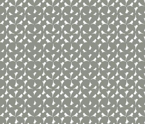 Abstract Bird fabric by laurapol on Spoonflower - custom fabric