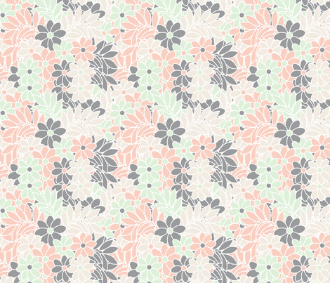 wedding_flowers fabric by anino on Spoonflower - custom fabric