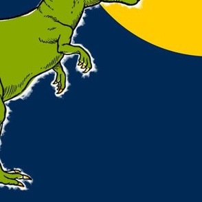 Dinosaur Polka Dots