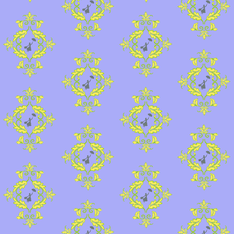 Poppins-Damask_aaacf8_Resized-to-2-inches fabric by kfrogb on Spoonflower - custom fabric