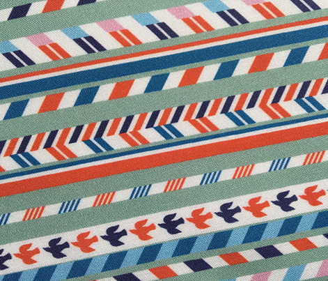 Airmail Stripes* (Camouflage) || postal service mail post par avion bird ribbon geometric chevron