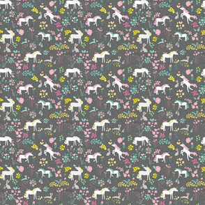 Unicorns Bunnies and Bubbles Small