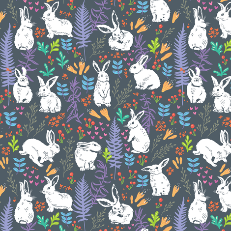 made for dreamin' fabric by penguinhouse on Spoonflower - custom fabric