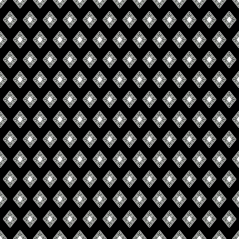 Girl's Best Friend - The Wedding Edition in black silk fabric by inscribed_here on Spoonflower - custom fabric