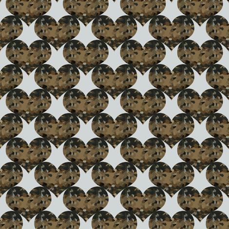 LITOD Flaky Hearts fabric by anniedeb on Spoonflower - custom fabric