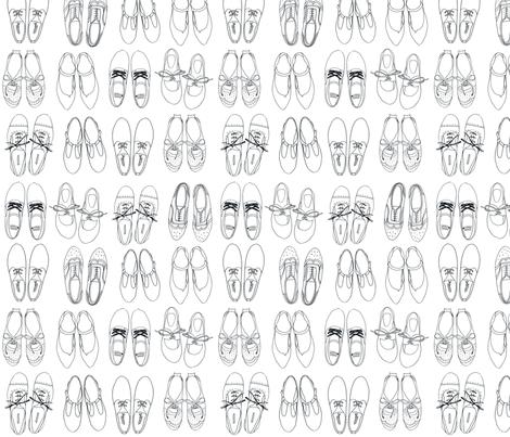 Shoes fabric by brokkoletti on Spoonflower - custom fabric