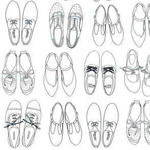 shoes for coloring