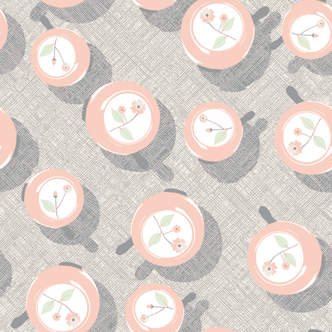 You Ring My Bell - The Wedding Edition fabric by inscribed_here on Spoonflower - custom fabric