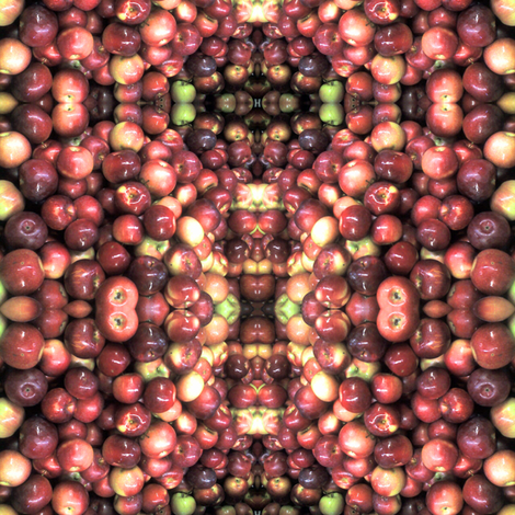 Apples fabric by jacneed on Spoonflower - custom fabric
