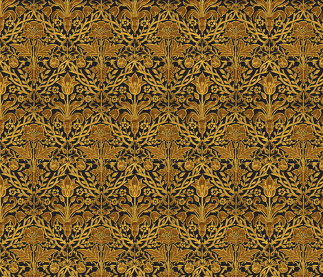 victorian upholstery-ch fabric by unseen_gallery_fabrics on Spoonflower - custom fabric