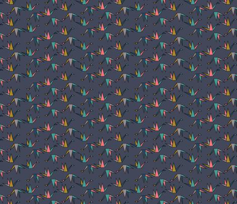oiseauxkid1 fabric by andalouz on Spoonflower - custom fabric