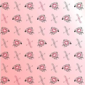 Swirls of Love (pinks)