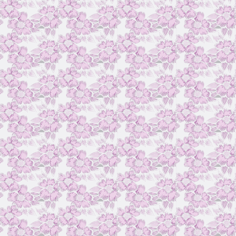 bright purple flower-ch fabric by fallingladies on Spoonflower - custom fabric