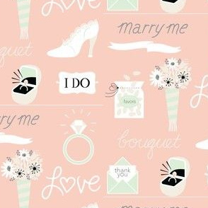 marry me! in peach