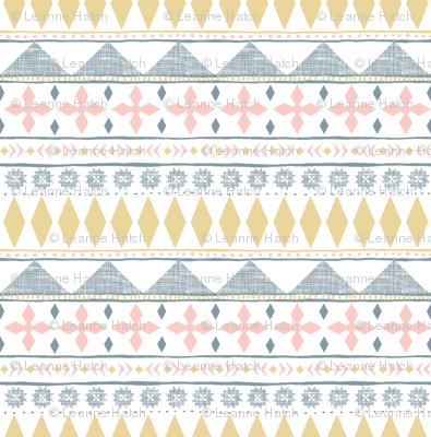 Tile Stripe (Dusty Blue)