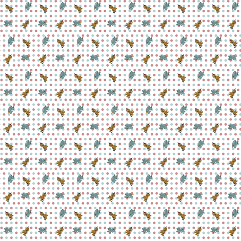 BCSF2016_CIRCUSANIMALS_CALICO_DOLLSZ fabric by agreencat on Spoonflower - custom fabric
