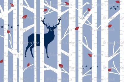 walk in the woods // denim