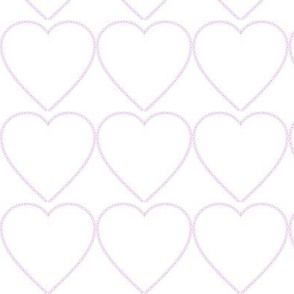 XOX Heart Frame Pink
