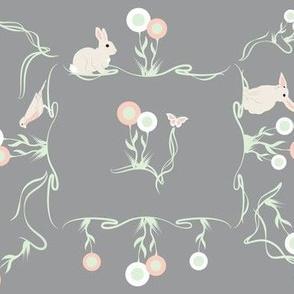 Bunnies, Butterflies, and Birds