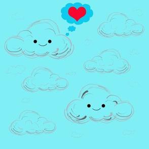 Clouds in love