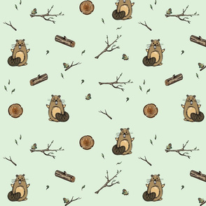 Minty beaver