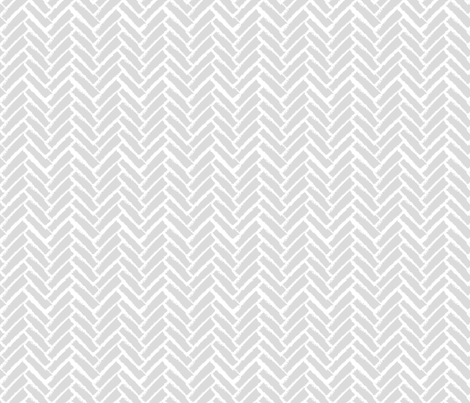 Modern Herringbone, Gray fabric by pearl&phire on Spoonflower - custom fabric