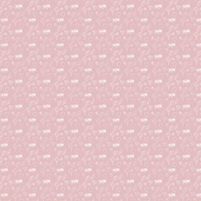 Sinister Shabby Ditzy Pink