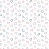 Pastel Ditsy Flowers