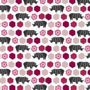 Rhinoce-Roses Tiny
