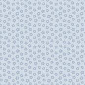 Tiny Blue Ditsy Flowers