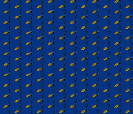 prairie dock fabric by zenia on Spoonflower - custom fabric