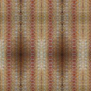 Gold/orange vertical rosepath