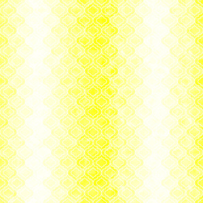 Ombre Quatrefoil Yellow