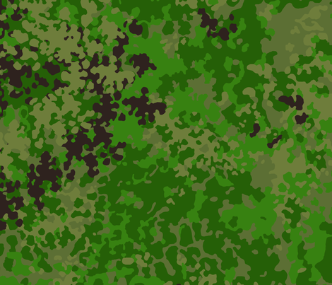 Flecktarn_Tropical fabric by ricraynor on Spoonflower - custom fabric