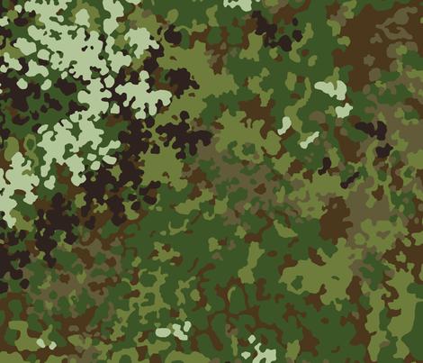 Flecktarn_Multi_004 fabric by ricraynor on Spoonflower - custom fabric