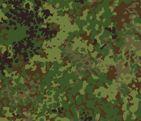 Flecktarn_Multi_003 fabric by ricraynor on Spoonflower - custom fabric