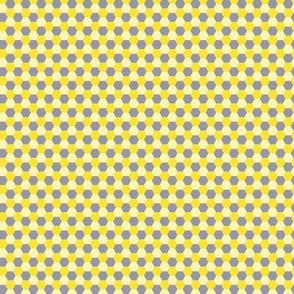 Pattern hexagon yellow