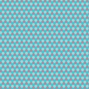 Pattern hexagon light blue