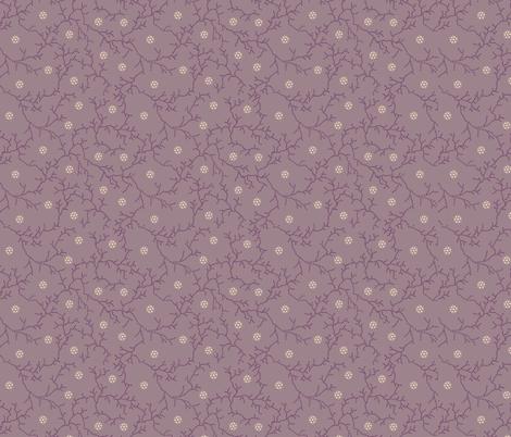 Dusty Rose fabric by maria_minkin on Spoonflower - custom fabric