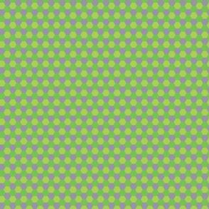 Pattern hexagon green