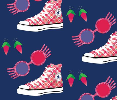 Luna Lovegood fabric by meganroseharms on Spoonflower - custom fabric