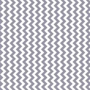 Lilac gray chevron