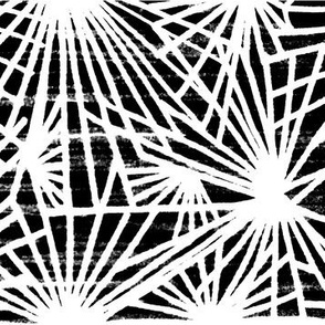 woodcut black