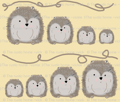 Hedgehogs Family