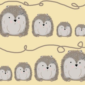 Hedgehogs Family