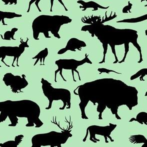 North American Animals - Mint