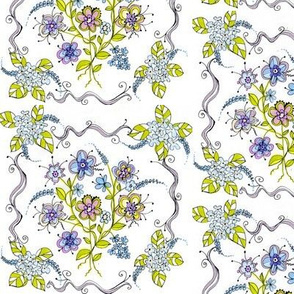Ode to Embroidered Ribbon l